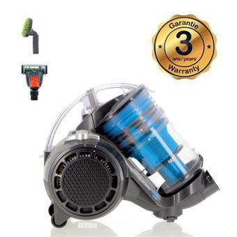 EZIclean Turbo Eco-pets, aspiradora sin bolsa multi-ciclónica AAA para mascotas