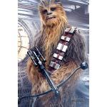 Maxi Poster Star Wars The Last Jedi Chewbacca Bowcaster