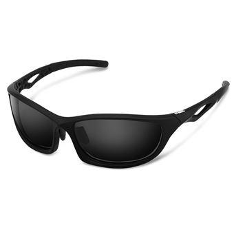 2855775f1f Gafas de Sol Deportivas, Enkeeo GBS01 con Montura TR90 y lentes de  protección UV400, Negro, Accesorios y componentes para bicicletas, Los  mejores precios | ...