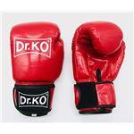 Dr. K.O. Modelo Classic: Guantes de Boxeo máxima protección (Rojo, 14 oz)