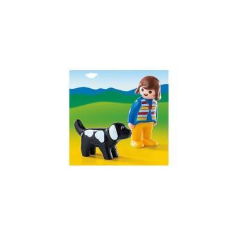 PLAYMOBIL 6977 1.2.3 - Mujer con perro