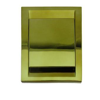 Toma Aspiración Centralizada Serie PREMIER 91x123 mm DORADO