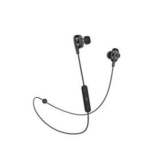 Auricular inalámbrico Bluetooth Muvit M2i+ con sistema dual driver negro