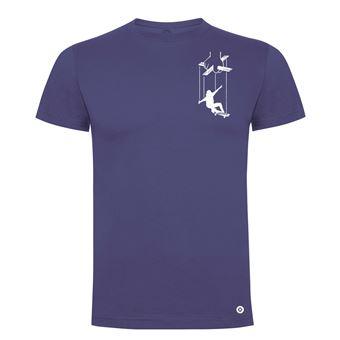 Camiseta manga corta Friking, Modelo 983 Skater Puppet Talla L, Denim