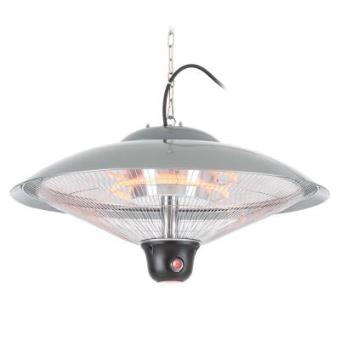 DURAMAXX Heizsporn Radiador de techo 60,5 cm (Ø) Lámpara LED Mando a distancia