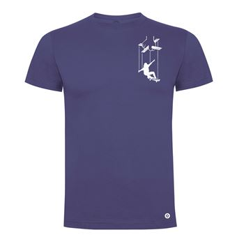 Camiseta manga corta Friking, Modelo 983 Skater Puppet Talla M, Denim