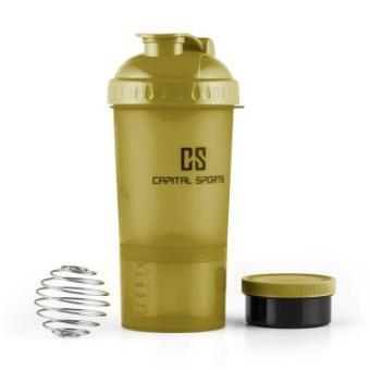 Batidora de bebidas proteínicas Capital Sports Shakster