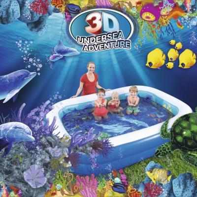 3dcc787d Piscina hinchable Bestway Undersea Adventure, Piscinas, Los mejores precios  | Fnac