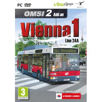 Omsi 2 - Add-on Vienna 1 - Line 24a (pc Dvd) [importación Inglesa]