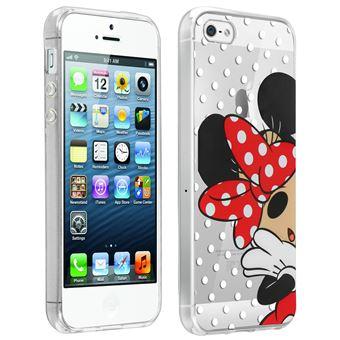 f85f9541018 Carcasa iPhone 5 / 5S / SE Minnie Mouse Lunares Disney Transparente - Fundas  y carcasas para teléfono móvil - Los mejores precios   Fnac