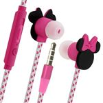 Auriculares diseño Minnie Mouse en 3D 3,5 mm Fucsia, Disney