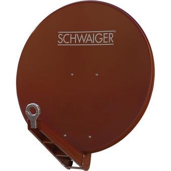 Schwaiger Spi075p Antena de Satélite Roja
