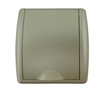 Toma ESPECIAL PVC Aspiración Centralizada 89x87mm CHANPAGNE