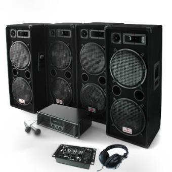 Bassbrigade USB Equipo PA Amplificador