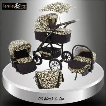 Ferriley fitz q bus cochecito carrito bebe silla para for Precio de silla bebe para coche