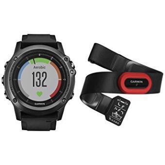 Garmin Fenix 3 Zafiro hr - Reloj Multideporte con GPS y Correa de Frecuencia Cardiaca