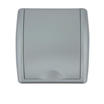 Toma ESPECIAL PVC Aspiración Centralizada 89x87mm PLATA