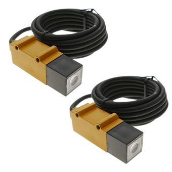 Sensor interruptor célula fotoeléctrica BeMatik PNP NO+NC 10-30VDC 5m barrera