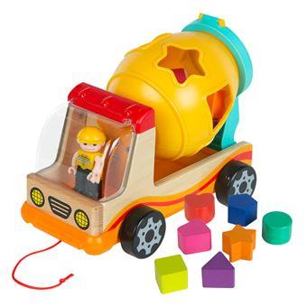 Camión de madera con actividades WOOMAX
