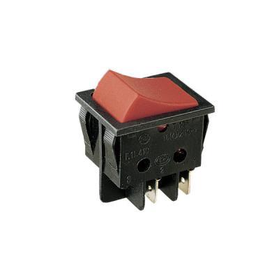 11.405.IL/BR Interruptor bipolar Tipo luminoso 16A/250V ON-OFF Electro DH COLOR  Blanco y Rojo 8430552016648