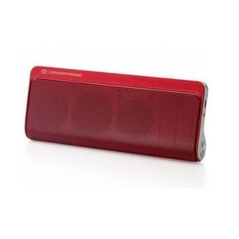 Altavoz Conceptronic Bluetooth Alta Calidad Stereo Color Rojo