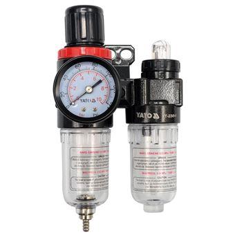 Regulador y lubricador de filtro de aire Yato, 6,3 mm YT-2384