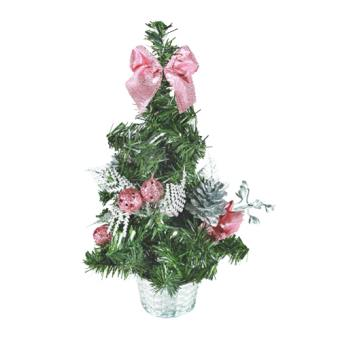 Árbol de Navidad Pequeño con Adornos