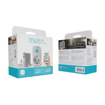 Enchufe Inteligente Wifi con Monitor de Energía Muvit I/O