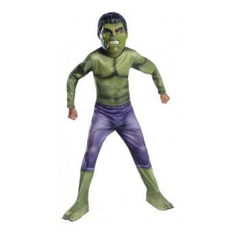 Disfraz Hulk Classic Los Vengadores II La Era de Ultrón para niño Original - Talla - 3-4 años