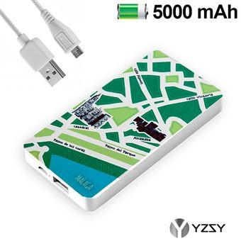 Bateria Externa 5000mAh Cities of the World - Malaga