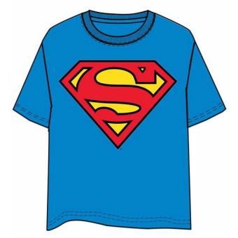 Camiseta Superman Logo Clasico, Talla L