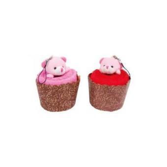 Toallas Muffins oso