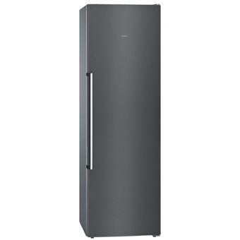 Congelador vertical Siemens GS36NAX3P No Frost A++ acero inoxidable negro
