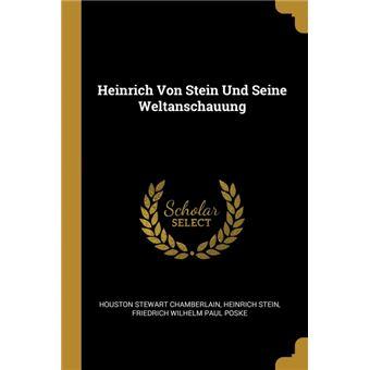 Serie ÚnicaHeinrich Von Stein Und Seine Weltanschauung Paperback