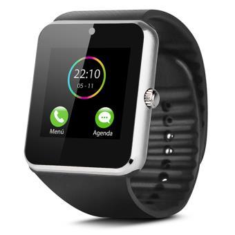 Smartwatch SW-832 Smartek multifunción con cámara integrada, Plata