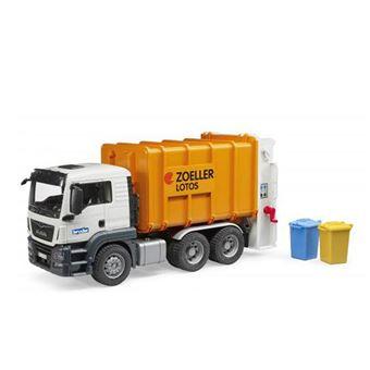 Camión de recogida de basura MAN TGS Bruder 03762