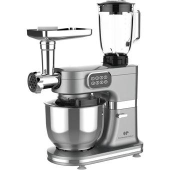 CONTINENTAL EDISON Robot multifuncional para pastelería - 1000 W - Gris