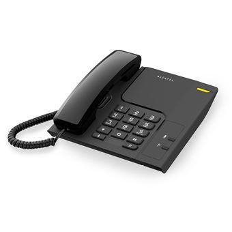 Teléfono Alcatel CORDED T26 negro