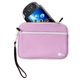 Funda Rosa Resistente Al Agua Para El Sony PS Vita & PSP  Por DURAGADGET