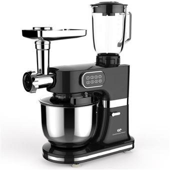 CONTINENTAL EDISON Robot multifuncional para pastelería - 1000 W - Negro