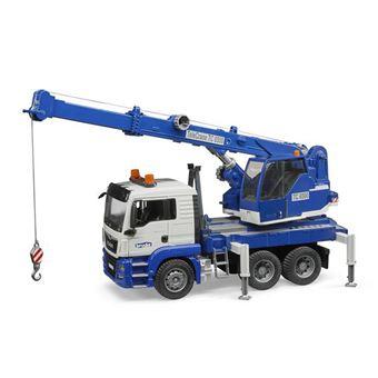 Camión grúa MAN TGS con módulo de luz y sonido Bruder 03770