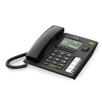 Teléfono Alcatel CORDED T76 negro