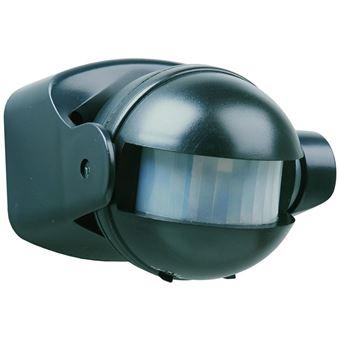 Sensor de movimiento Smartwares, 180° 12 m Negro ES34Z
