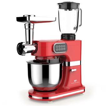 CONTINENTAL EDISON Robot multifuncional para pastelería - 1000 W - Rojo