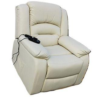 Sillón Relax Deluxe Masaje Maximum -, Con Calor Lumbar, 8 Motores De Vibración Maximum- Beige