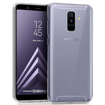 Funda de Silicona Cool para Samsung A605 Galaxy A6 Plus Transparante