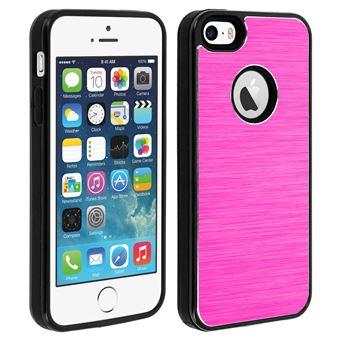 c91081b2d40 Carcasa protectora Apple iPhone 5 / 5S / SE de aluminio + Silicona, Rosa -  Fundas y carcasas para teléfono móvil - Los mejores precios | Fnac