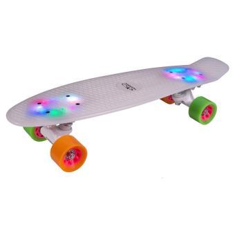 Hudora 12134 Skateboard Retro Rainglow