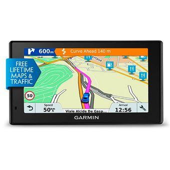 GPS con Mapas Preinstalados Garmin Drivesmart 51 we Lmt-s de Europa Occidental Pantalla de 5''