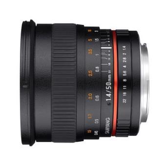 Lente para cámara Samyang 50mm F1.4 AS UMC, Pentax K